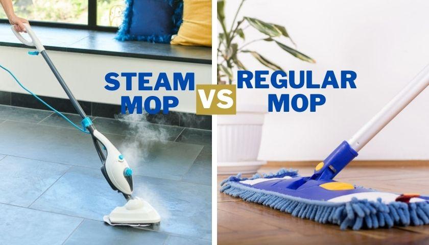 Steam Mop Vs Regular Mop