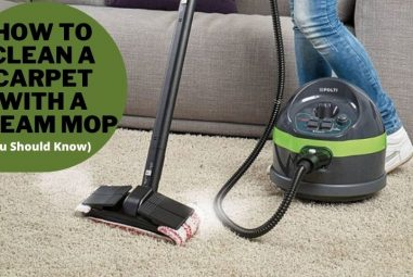 How to Clean a Carpet With a Steam Mop | You Should Know