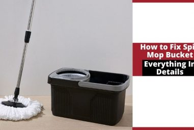How to Fix Spin Mop Bucket | Everything In Details