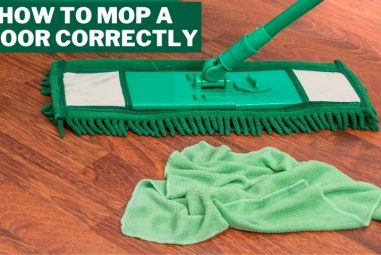 How to Mop a Floor Correctly | 4 Easy & Effective Methods