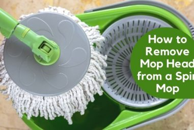 How to Remove Mop Head from a Spin Mop | Step by Step