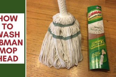 How to Wash Libman Mop Head At Home | Easily & Effectively
