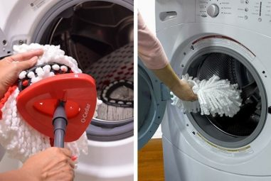 How to Wash Spin Mop Head in the Washing Machine Perfectly