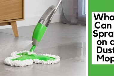 What Can I Spray on a Dust Mop | Everything in Details